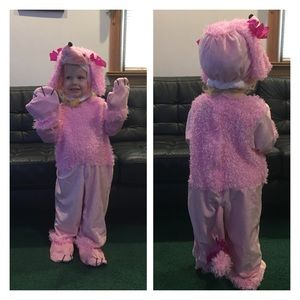 Poodle Halloween Costume size 4T - 6T